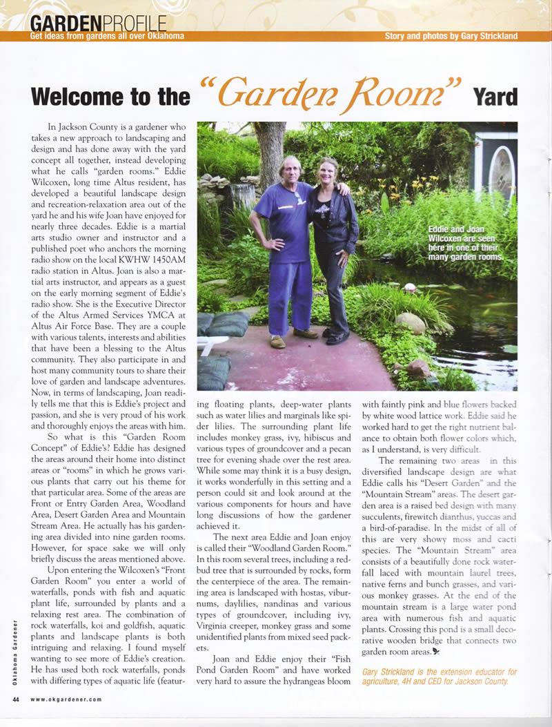 garden design magazine articles