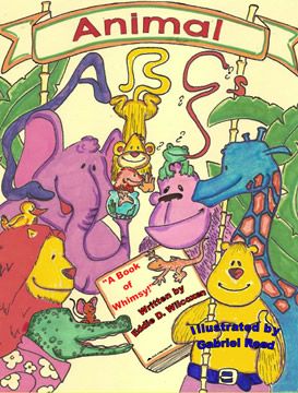 Animal ABCs - A coloring Book of whimsical poetry for Children by Eddie Wilcoxen
